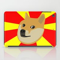doge iPad Cases featuring Doge by Subtle Tee
