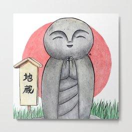 Jizo-sama Metal Print