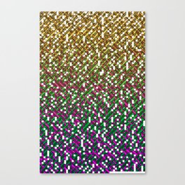 Encyclopedic Grid Canvas Print