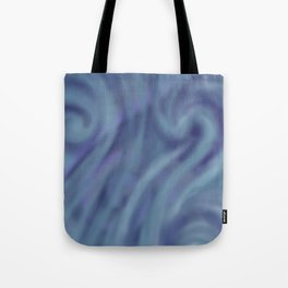 BLUE SWIRL Tote Bag