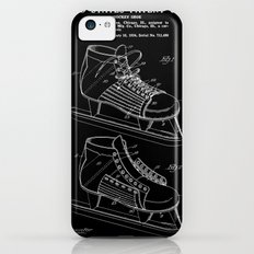 Hockey Skate Patent - Black Slim Case iPhone 5c