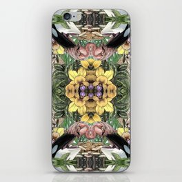 Wildlife Kaleidoscope iPhone Skin