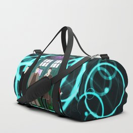The Doctors And Tardis Duffle Bag