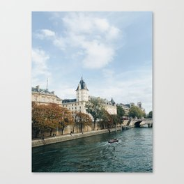 Europe in October Canvas Print