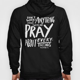 Dont Worry, Pray x Navy Hoody
