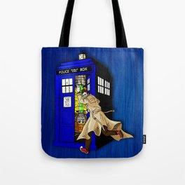 Blue tardis 02 Tote Bag