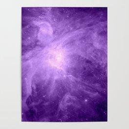 Orion NebuLA Purple Poster