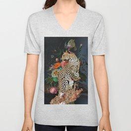 golden age leopard Unisex V-Neck