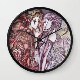 Devil & Jester Wall Clock