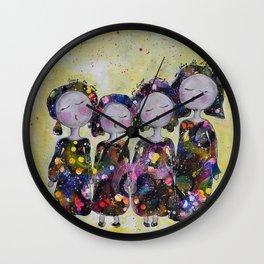 Sjung en sång för livet Wall Clock