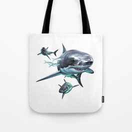 Great White Sharks Tote Bag