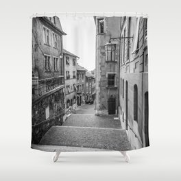 Old Town Geneva Shower Curtain