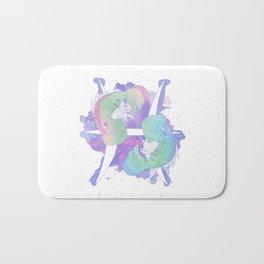 Pkmn Zodiac - Pisces Bath Mat
