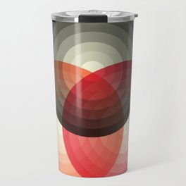 Three colour circles, inspired by Lacouture's Répertoire chromatique Travel Mug