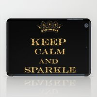keep calm iPad Cases featuring Keep calm by UtArt