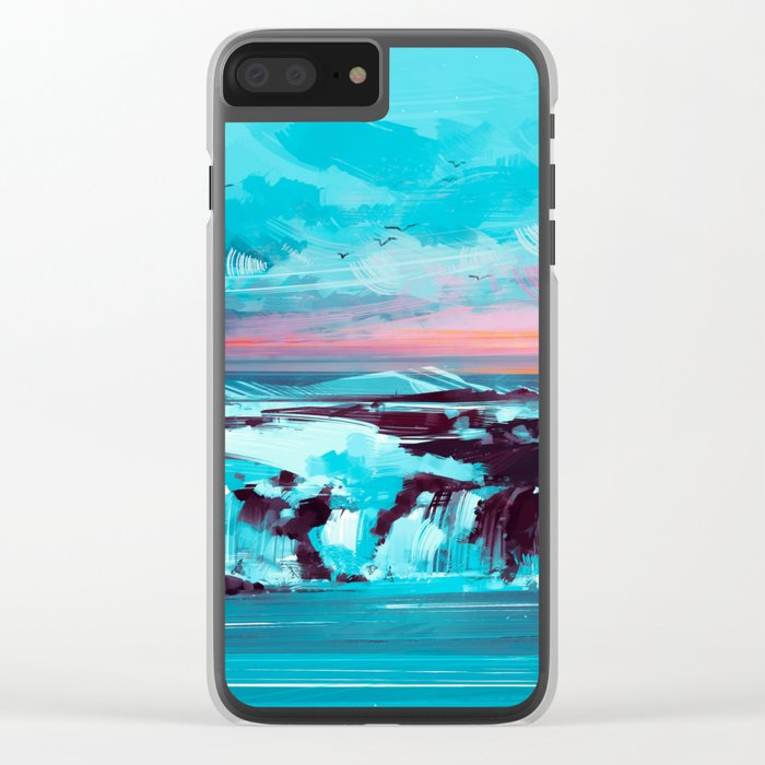 Northwind Clear iPhone Case