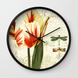 Natural History Sketchbook II Wall Clock