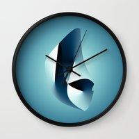 arya Wall Clocks featuring Paradigm by rodric