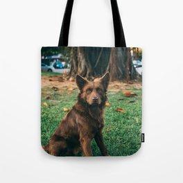 Dog by Treddy Chen Tote Bag