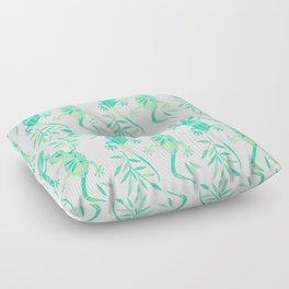 Geckos – Mint Palette Floor Pillow