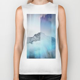 Boreal Lights on the Mountains Biker Tank