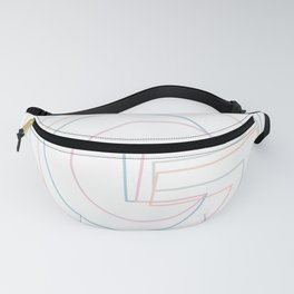 Intertwined Strength and Elegance of the Letter G Fanny Pack
