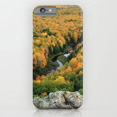 Autumn Colors at the Carp River Valley, Porcupine Mountains State Park, Upper Peninsula, MI iPhone 6s Slim Case