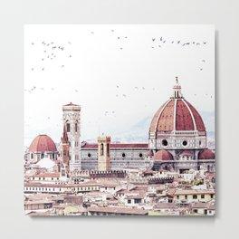 Brunelleschi's masterpiece Metal Print