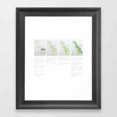 Art Demo on a Cushion - Dragonfly 1 of 3 Framed Art Print
