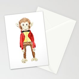 Mr Monkey Stationery Cards