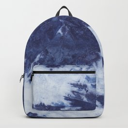 Indigo tie dye Backpack