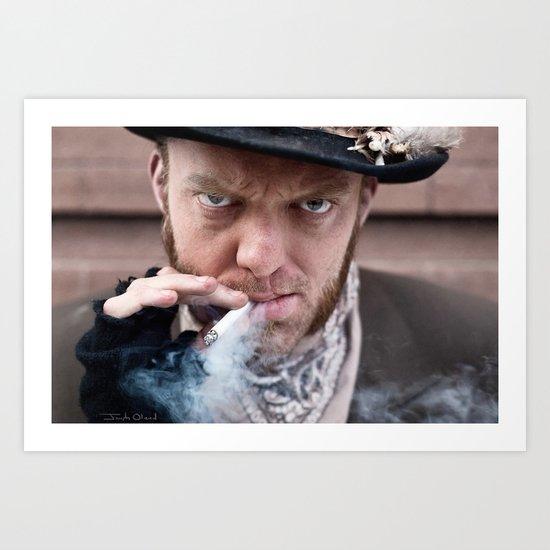 Vagabond With Cigarette Art Print