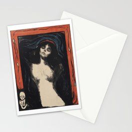 Edvard Munch - Madonna Lithograph Stationery Cards