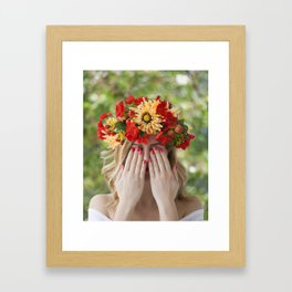 Spring fantasy Framed Art Print