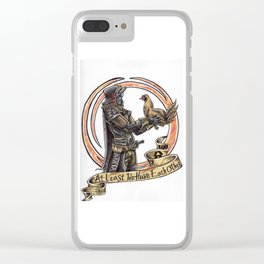 Each Other Clear iPhone Case
