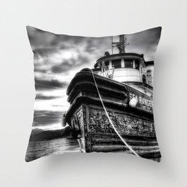 Sea Ranger Throw Pillow
