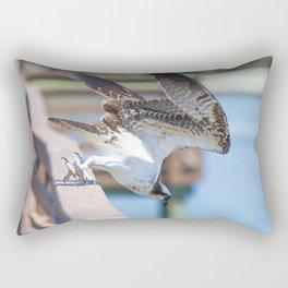 Feeding Osprey Rectangular Pillow