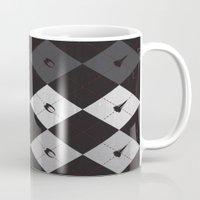 battlestar Mugs featuring Battlestargyle - BSG by Scott Brian Woods