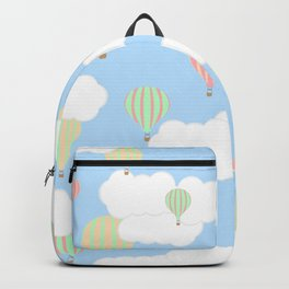 Hot Air Balloon In the Sky Backpack