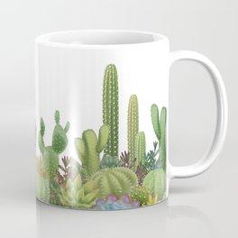 Milagritos Cacti on white background. Coffee Mug