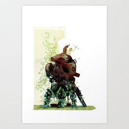 The Blue One Art Print