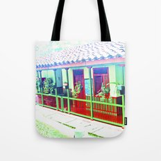 Colombia Coffee Park. Tote Bag