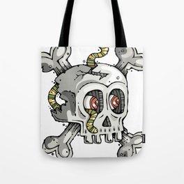Paul the Skull Tote Bag