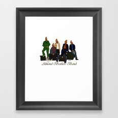 The Almond Brothers Band Framed Art Print