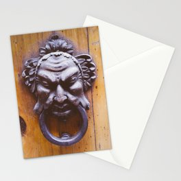 Door handle in Tuscany, Italy Stationery Cards