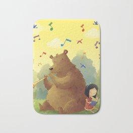 Friend Bear Bath Mat