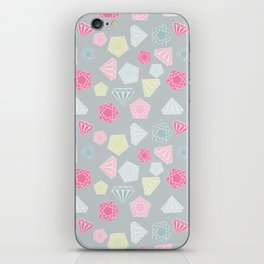 Diamons are best friend of girls iPhone Skin
