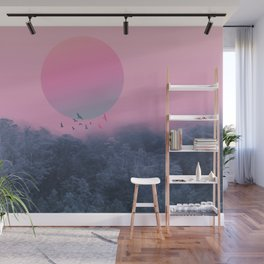 Landscape & gradients IV Wall Mural