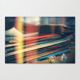 LEAKED. Canvas Print