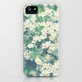 White flower dream iPhone Case